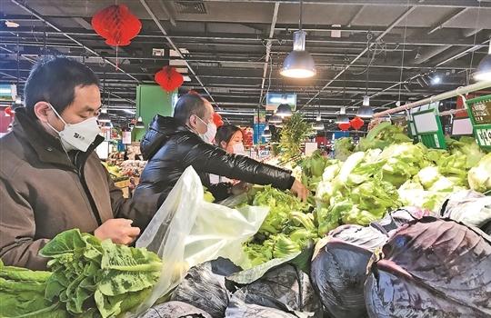 昆明超市農貿市場菜品供應直擊