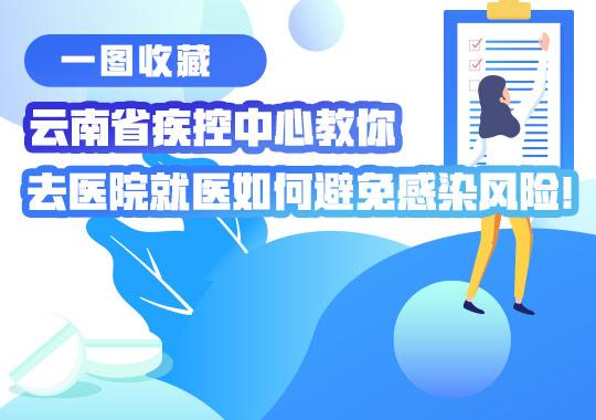 雲南省疾控中心教你去醫院就醫如何避免感染風險!