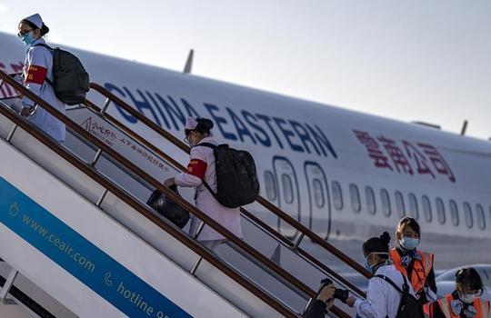 雲南省第二批援鄂醫療隊出徵