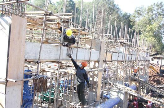 復工!雲南普洱中心城區抗旱應急連通補水工程開工