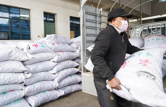 大理永平捐贈18.4噸核桃幹果支援湖北