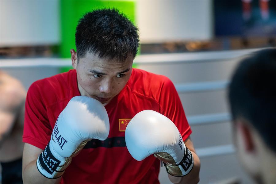 拳擊——徐燦在昆明訓練