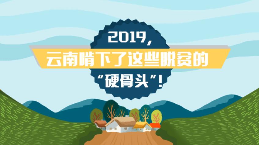 """2019,雲南啃下了這些脫貧的""""硬骨頭""""!"""