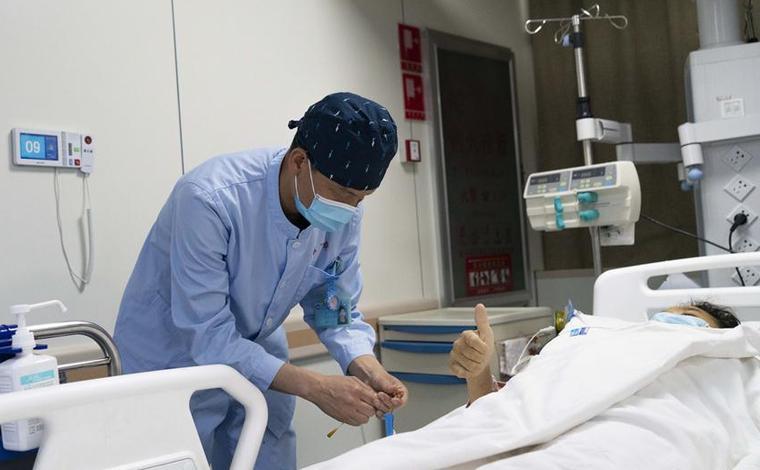 護士節裏忙碌的天使