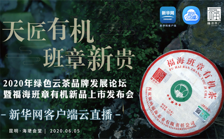 【新華雲直播】2020年綠色雲茶品牌發展論壇舉行