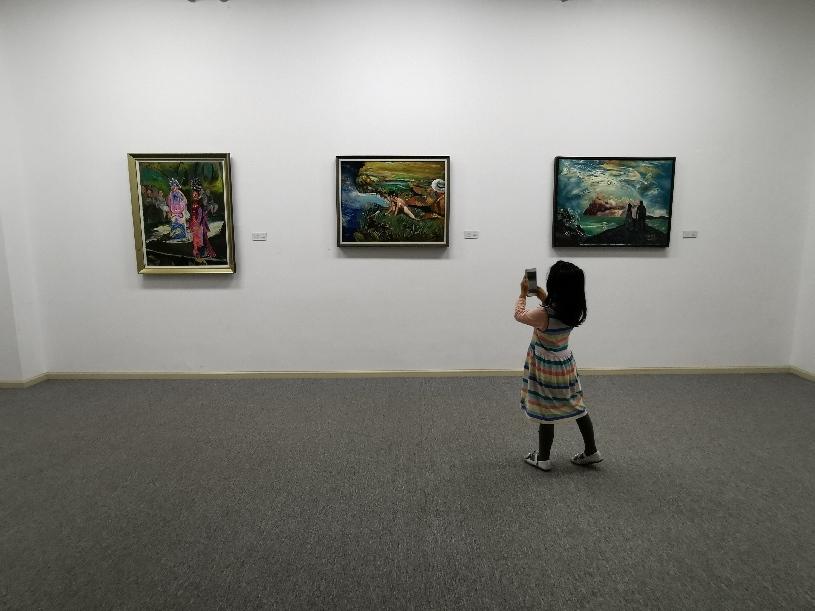 """""""'鏡子'裏的哲學——施慧的藝術世界""""在文林美術館展出"""