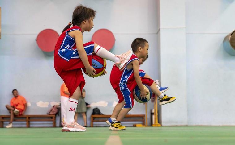雲南昆明:體育培訓豐富暑期生活