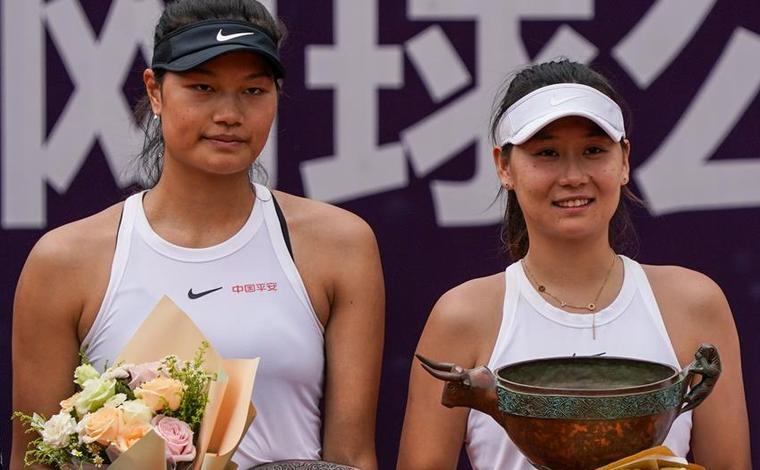 2020中國網球巡回賽安寧站:王美玲奪得女單冠軍