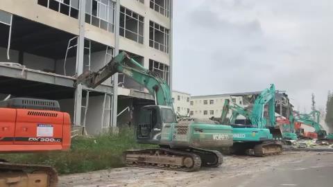 昆明藝術職業學院違法建築被拆除