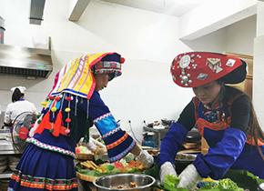 傈僳族特色美食帶富鄉鄰整村脫貧