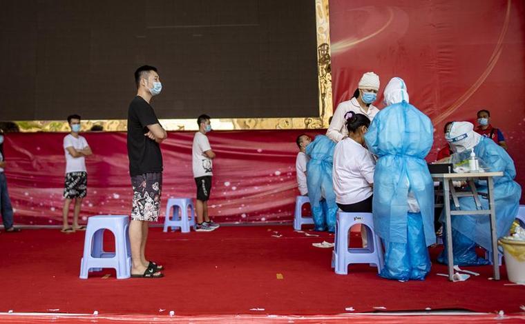 雲南瑞麗:核酸採樣超6萬人 嚴防交叉感染