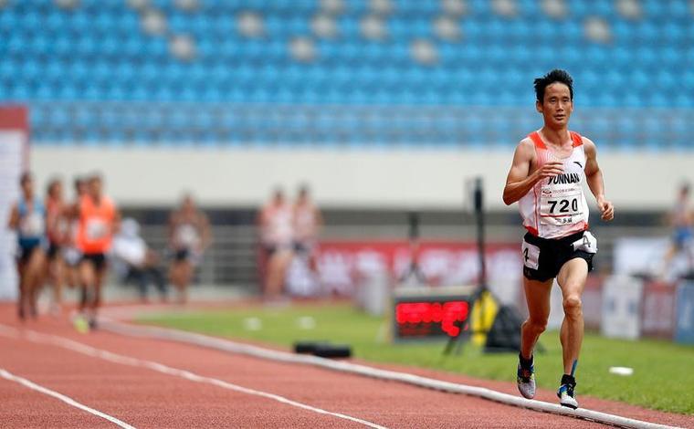 全國錦標賽:男子10000米決賽賽況