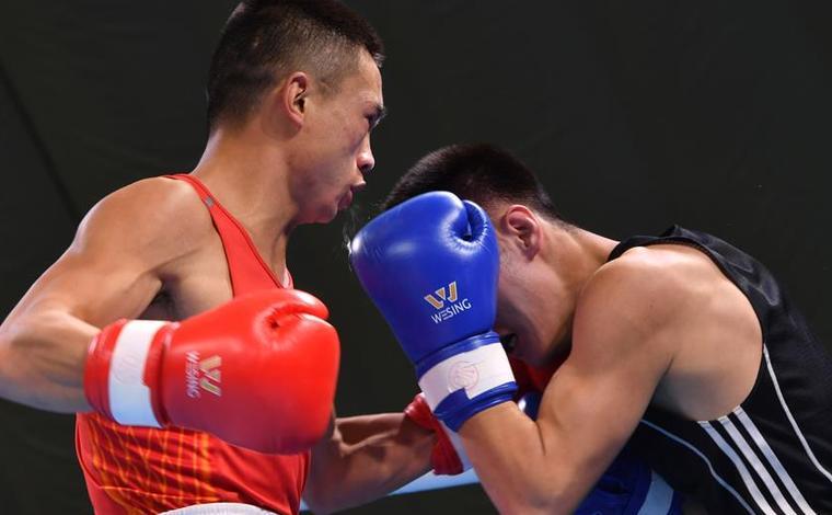 全國男子拳擊錦標賽:山俊晉級63公斤級決賽