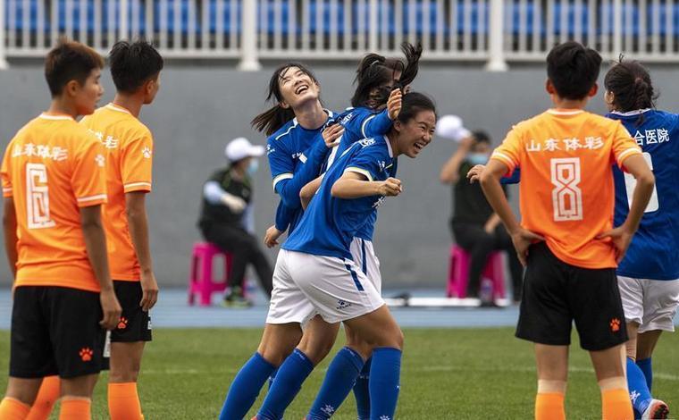 女超聯賽:廣東梅州五華勝山東體彩