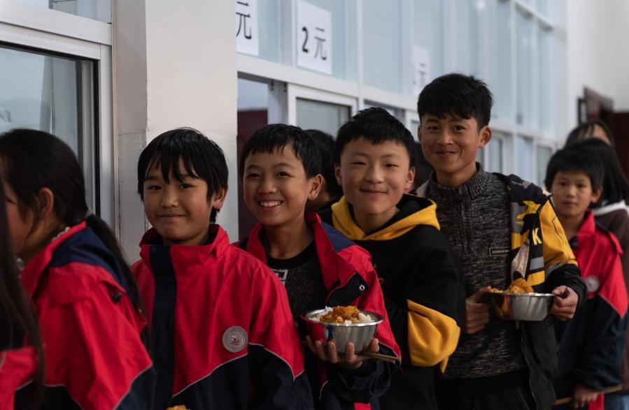 雲南鎮雄:烏蒙山裏的校園生活
