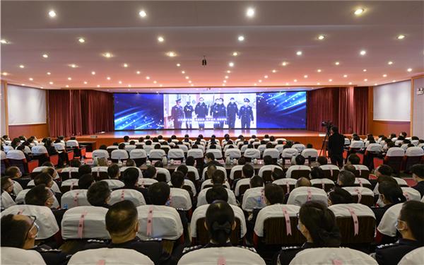 雲南監獄係統舉辦抗擊新冠肺炎疫情主題宣講會
