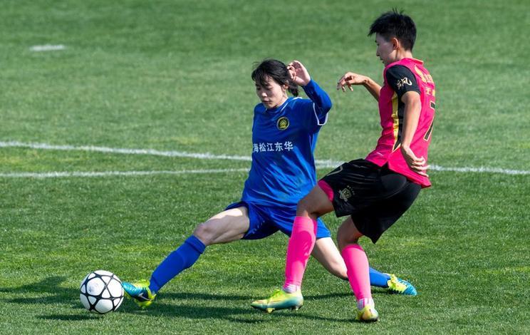 全國女子足球錦標賽:北京北控發展勝上海松江東華